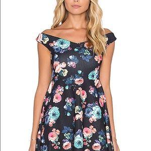MINKPINK flowered dress NWT